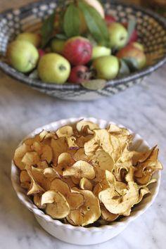 Apple chips| Eat • Drink • Garden • Santa Barbara, California