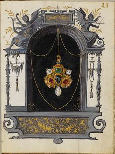 Jewel Book of the Duchess Anna of Bavaria (1550s) d | Flickr - Photo Sharing!