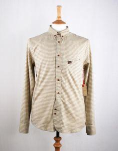 Marshall Artist Tradesman Shirt - Light Grey Check