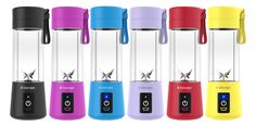 blendJet freedom of being able to go anywhere and blend your favorite smoothies shakes margaritas or baby food most powerful portable blender Milk Shakes, 21 Day Fix Meal Plan, Portable Blender, Mini Blender, Yummy Smoothies, Smoothie Recipes, Strawberry Smoothie, Red Fruit, Blenders