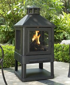 Take a look at this Villa Fireplace by Crosley on #zulily today!