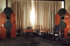 """JBL/Westrex T550A horn lens + JBL375 compression drivers. JBL D140 15"""" woofers in V-Vent 2 cabinets. Gauss super tweeters. Designed by Joey of Harana Audio."""