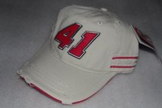 Chase Authentics NASCAR  41 Khaki Target Chip Ganassi Racing Felix Sabates  Throwback Cap Embroidered Velcro Back hat by Chase Authentics.  8.19. d66cbad49dab