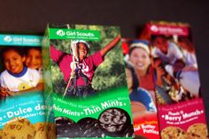 Make an entire dinner with Girl Scout cookies using these 5 recipes! Source: the Stir