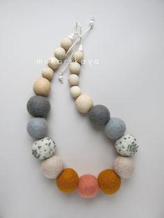 felt necklace                                                       …