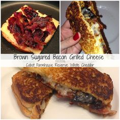 Brown Sugared Bacon Grilled Cheese | Young At Heart Mommy