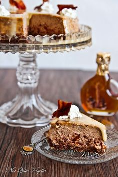 Maple & Bacon Cheesecake... I am so curious... I HAVE to know what these taste like.