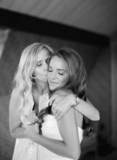 Precious mom and daughter picture Style Me Pretty | Gallery #weddingphotography