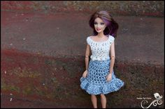 Mamma That Makes: Barbie Month .12 - Denim Skirt