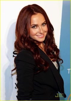 Hayden Panettiere As A Red Head