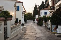Summer Nights in Spetses. Part 3 of our Greek sailing and my favourite island of all. Sailing Adventures, Summer Nights, Sidewalk, Greek, Island, Nice, Travel, Viajes, Side Walkway