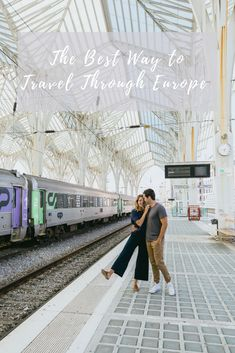 Traveling through Europe by Train