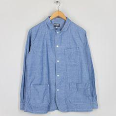 Shirt Jacket - Indigo Oxford | Rough and Tumble | Peggs & son.