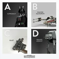 Which one will you try first? #StarWarsBattlefront by eastarwars