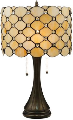 "Meyda Tiffany 119589 21""H Giacomo Table Lamp"