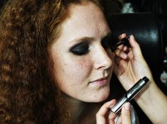 #isadora #makeup #redhead #hair #beauty #likeit #eyes #lashes #lash #longlash #smokey #mascara #fashionshow #lashes #model #models #makijaż #poland