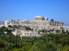 Acropolis Athens Greece Greece- Our first honeymoon stop in Greece was Athens- beautiful but dirty
