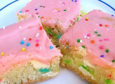 Six Sisters' Stuff: Cake Batter Blondies Recipe