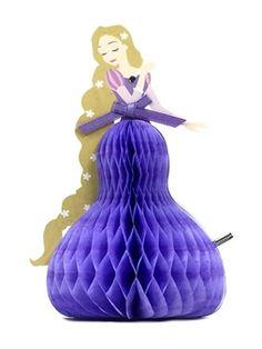 74 best disney princess greeting cards images on pinterest in 2018 disney princess rapunzel honeycomb pop up greeting card m4hsunfo