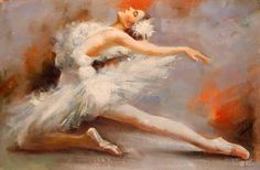 Ballet dancer. Art.