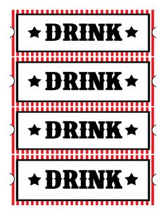 printable drink tickets