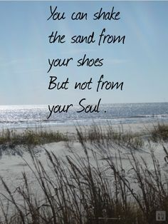 My soul needs some sandy toes