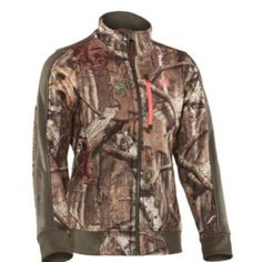 d0391c244368f Women'S Under Armour Mossy Oak Jacket Hunting Girls, Hunting Gear, Hunting  Clothes, Hunting