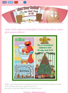Don't miss all these #giveaways! Check out this Mad Mimi newsletter