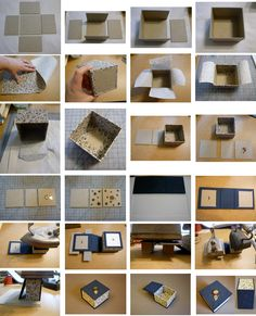 photos only of box making