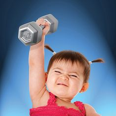Dumbbell Shaped Baby Rattle $7.45