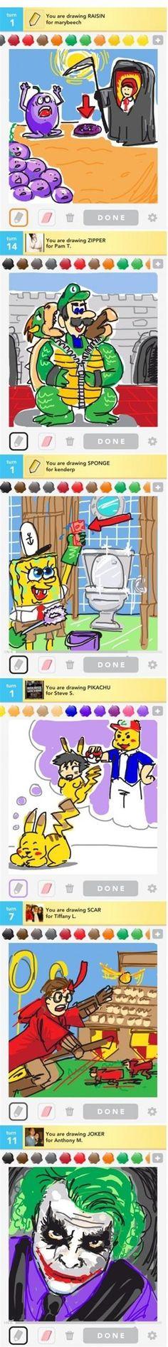 Creative draw something