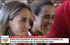 As atletas Jéssica Augusto, Salomé Rocha e Sara Moreira partiram do Porto, enquanto o atleta de lançamento do peso, Tsanko Arnaudov partiu de Lisboa. Portugal, Olympic Games, Rock, Lisbon, Rio De Janeiro, Porto, Athlete