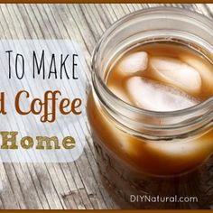 Iced Coffee Recipe - How To Brew it At Home This won't quite be the same with decaf, but at least it's really good decaf...