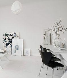 Monochrome Black and White Artwork