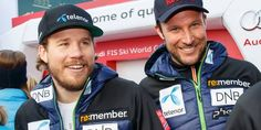 Two of the best downhill racers: Kjetil Jansrud and Aksel Lund Svindal