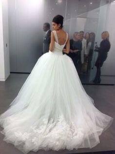 wedding gowns beautiful train! :)