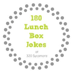 funny kids jokes for lunchboxes, typed up ready to cut and put in lunches