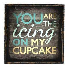 Fetco Icing On My Cupcake Wall Decor