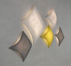 Applique murale design original / en acier / dimmable / faite main KITE by Arturo Álvarez arturo alvarez