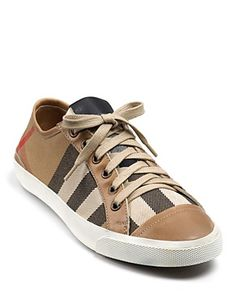 burberry vintage house sneakers