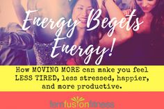 How to fit more movement into your day (tips and videos!) | FemFusion Fitness