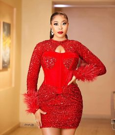 African Prom Dresses, Latest African Fashion Dresses, Nigerian Outfits, African Fashion Traditional, Lace Dress Styles, Evening Dresses For Weddings, Wedding Dress Sleeves, Classy Dress, Latest Ankara