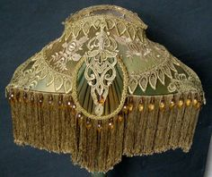 Victorian Lamp Shades When choosing a replacement lamp shade you can more specifically focus on a particular era of Vintage Lamp Shade. Victorian Rooms, Victorian Lamps, Antique Lamps, Vintage Lamps, Vintage Lighting, Cool Lighting, Victorian Lighting, Bedroom Minimalist, Custom Lamp Shades