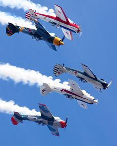 Air Show formation, WW2 Fighters
