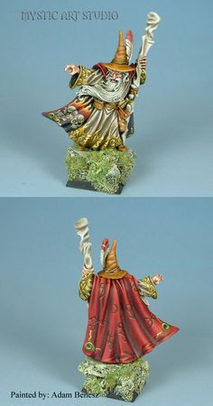 The Internet's largest gallery of painted miniatures, with a large repository of how-to articles on miniature painting Dungeons And Dragons Figurines, Dungeons And Dragons Miniatures, Figurine Warhammer, Warhammer Figures, Warhammer Empire, Warhammer Fantasy, Advanced Dungeons And Dragons, Final Fantasy Characters, Dragon Figurines