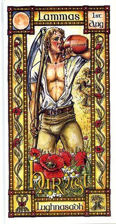 The Goddess and the Green Man | Festivals And Sabbats | Lammas Harvest
