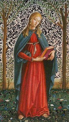 II - La grande prêtresse - Tarot d'or Botticelli par Atanas Alessandro Atanassov