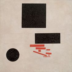 Kasimir Malevich - Suprematistische Komposition, 1915. Huile sur toile, 80,4 x 80,6 cm. Photo: Robert Bayer, Basel. | Fondation Beyeler, Switzerland