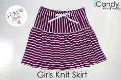icandy handmade: (tutorial) J Crew Knock-off: Girls Knit Skirt