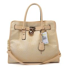 Michael Kors Sloan Quilted Totes in Khaki